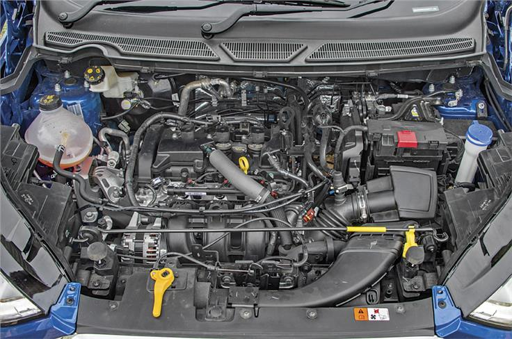 New 1.5-litre, 3 cyl 'Dragon' petrol motor is incredibly refined and has plenty of grunt low down.