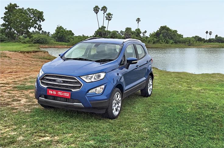 This is the first major facelift for the EcoSport since it was unveiled in 2012.