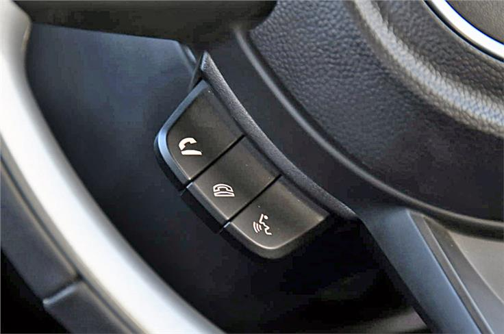 Bluetooth phone connectivity and audio streaming is a feature on all but the base L trim.