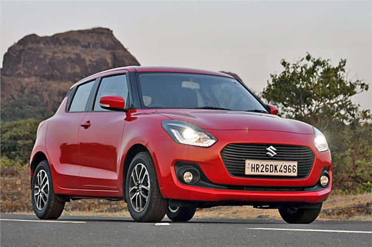 Third-gen Swift's smooth lines are contemporary Suzuki yet the model retains the sporty and compact look of its forebears.