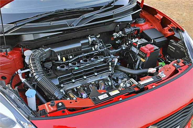 The 83hp, 1.2-litre petrol and 75hp, 1.3-litre diesel engines are carried over from the last-gen Swift.