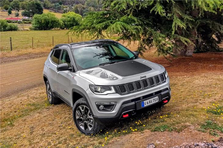 The international-spec Jeep Compass Trailhawk