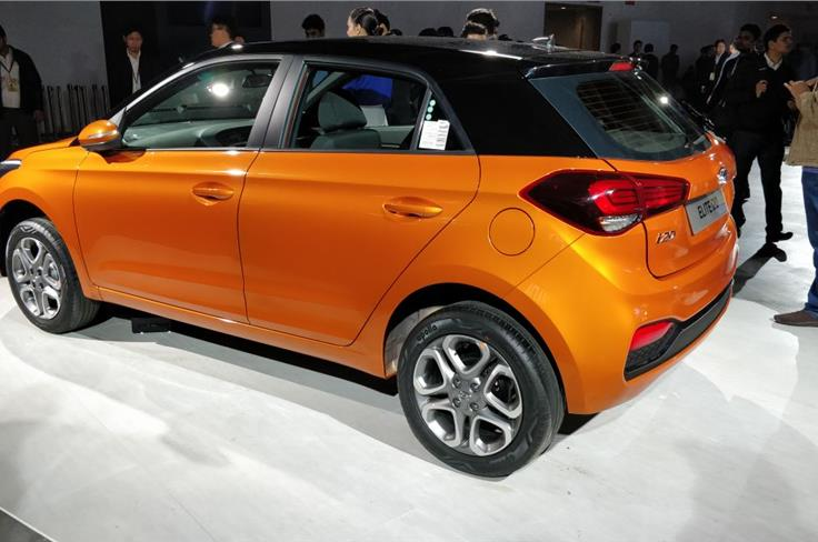 Contrasting black roof at a premium of Rs 25,000.