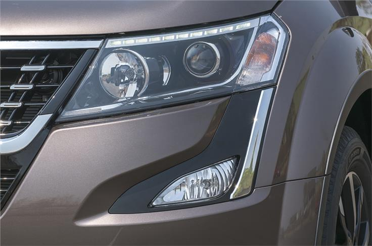 While the shape remains the same, the elements inside are new. The horizontal LED DRL strip looks aftermarket.
