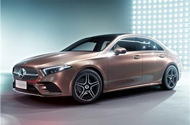 Clean design draws heavily on the Concept A sedan unveiled at Shanghai motor show 2017.