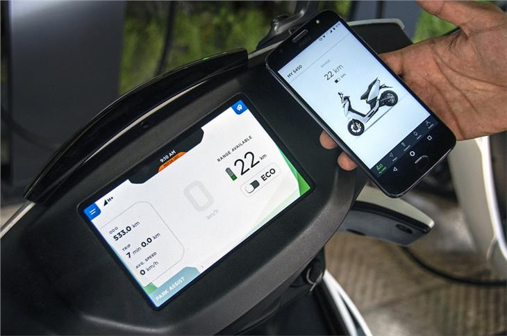 Ather does connectivity commendably, adding to real-world practicality.