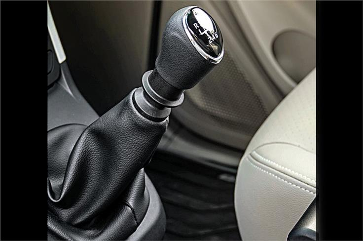 Gear shift is light but gear lever a touch too tall hence throw long too.
