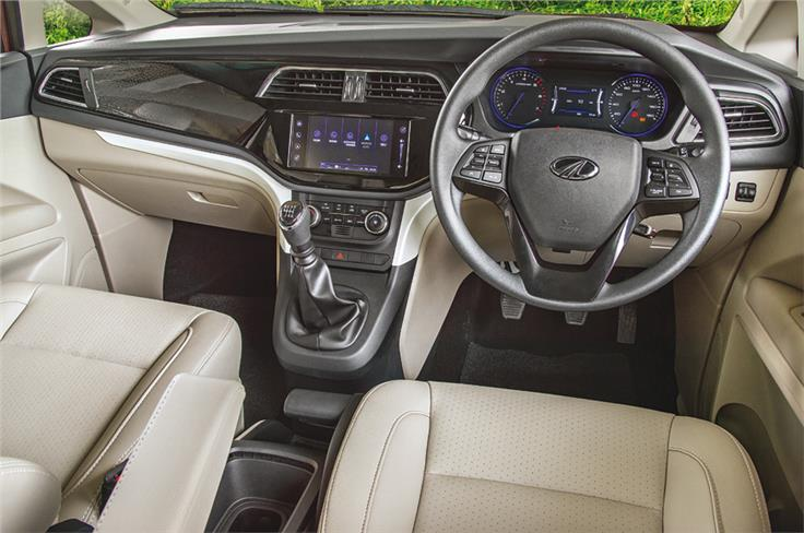 Dash design is clean and material quality is largely impressive.