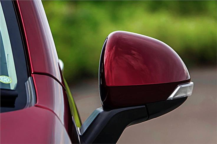 Rear view mirrors offer good viability but stick out wide.Need to be mindful of width.
