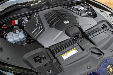 4.0-litre twin-turbo V8 motor makes 650hp and 850Nm of peak torque.