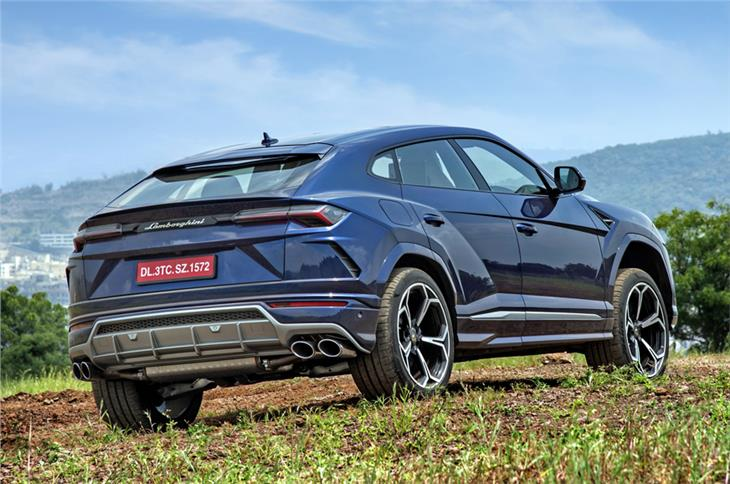 The Urus definitely looks the part of sporty SUV.