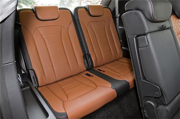 Like its rivals, the Alturas G4 is a seven seater.