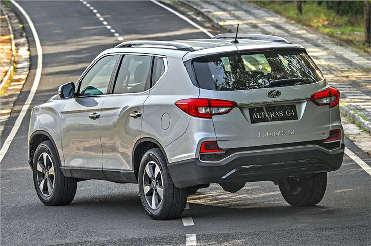 The Alturas G4 is Mahindra's version of the latest SsangYong Rexton.