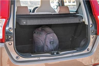 You can fit in lot of luggage into the Wagon R's boot.