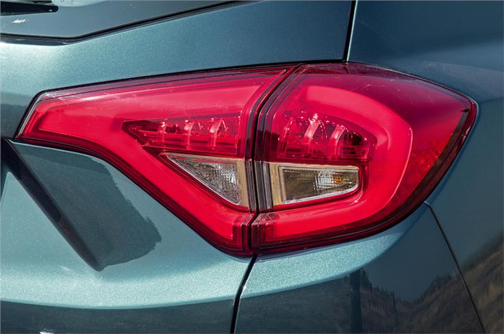 LED tail-lamps offered on all variants of the XUV300.