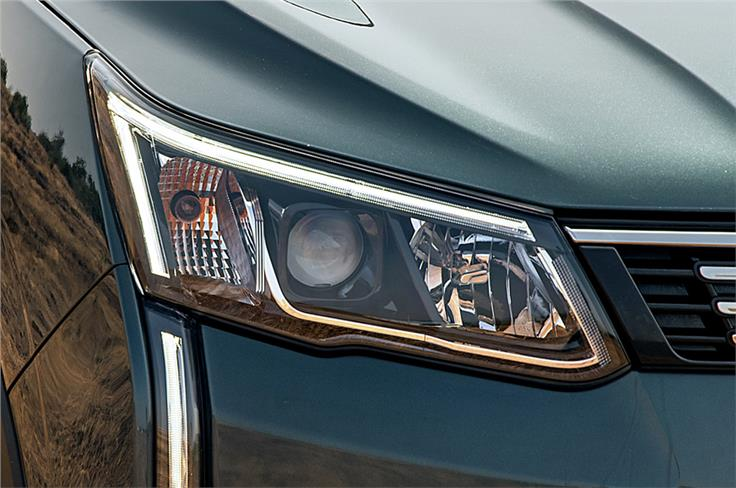 LED DRLs are part of the package on higher variants.