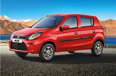Updates to the Alto 800 are more extensive than just cosmetic changes.
