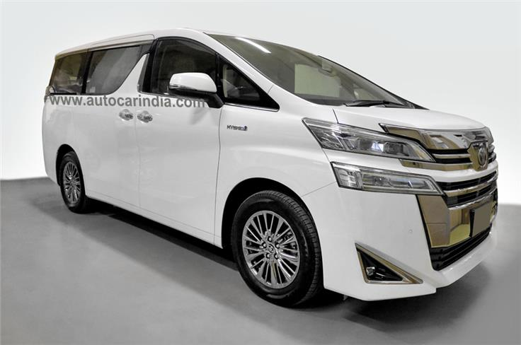 The Vellfire and Alphard luxury MPVs differ in terms of design and features.