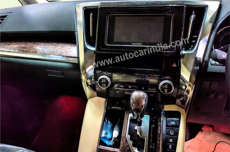 This 7.0-inch touchscreen infotainment is an aftermarket unit.