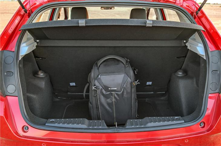 345-litre boot can hold quite a lot but loading lip is high.