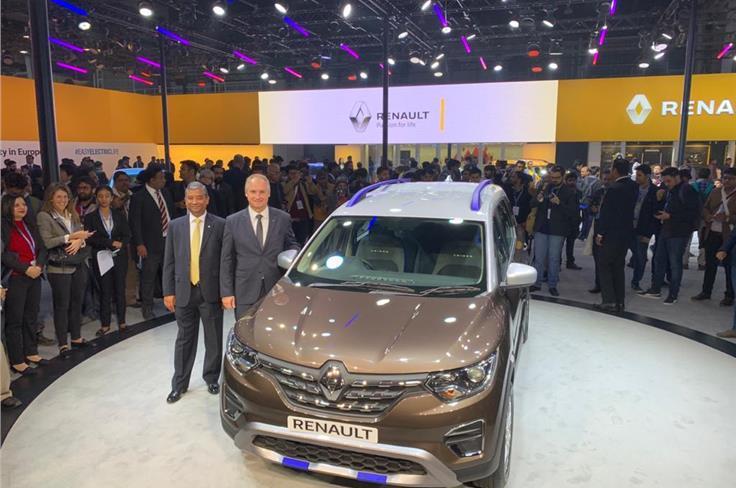 Renault Triber AMT.