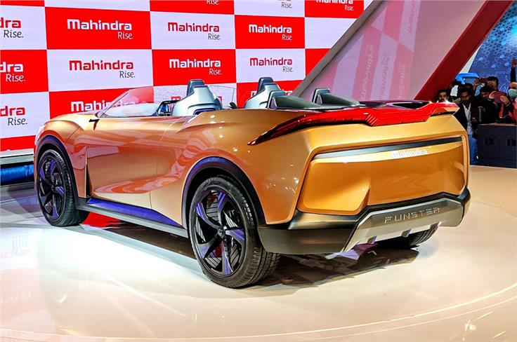 Mahindra Funster concept.