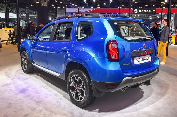 Renault Duster 1.3-litre turbo-petrol.