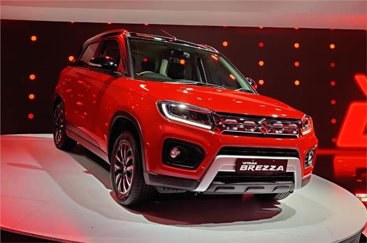 Maruti Suzuki Vitara Brezza Facelift, petrol.
