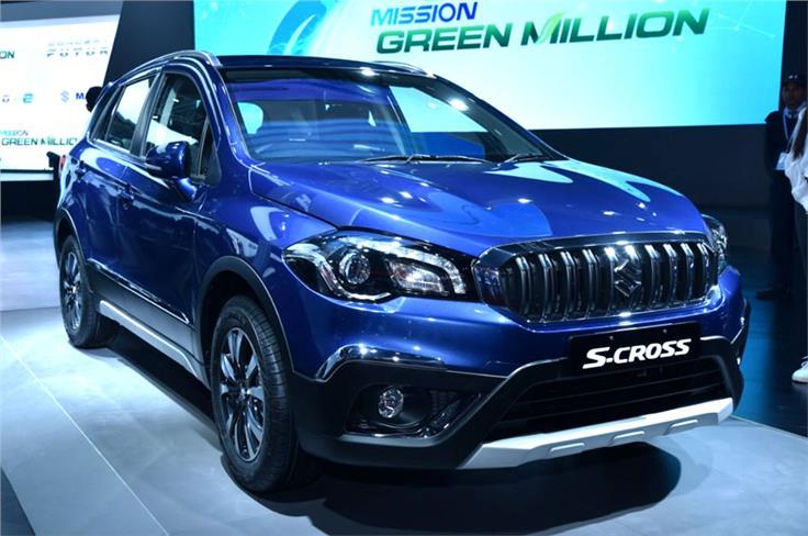 Maruti Suzuki S-Cross Petrol.