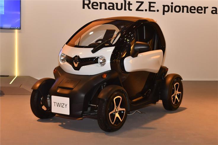 Renault Twizzy cargo.