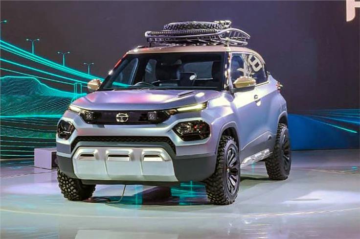 Tata HBX concept.
