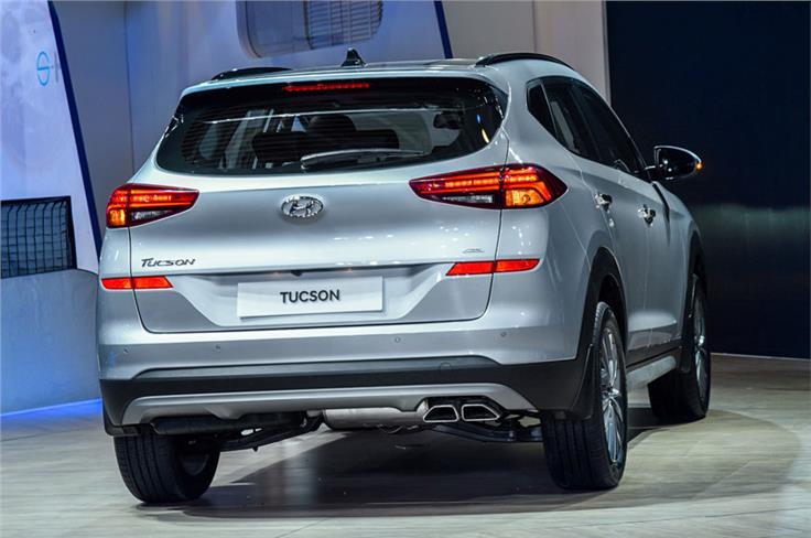 Hyundai Tucson facelift.
