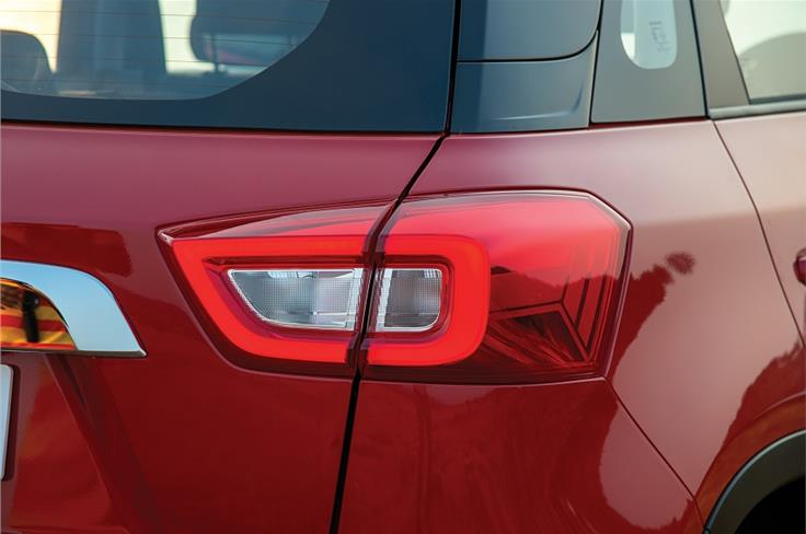 Tail lamps get LED detailing.