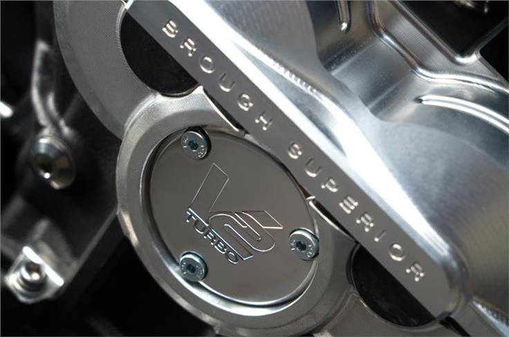 Powering it is a turbo-charged 997cc V-twin that produces 180hp.