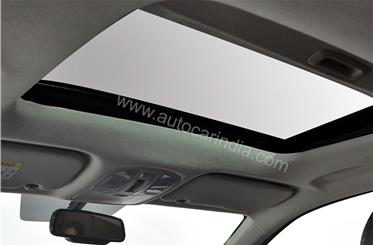 The lengthy feature list also includes an electrically operated sunroof.