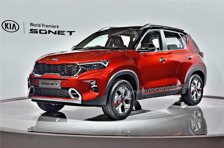 The Kia Sonet has a striking design, with lots of cuts, curves that work well together.