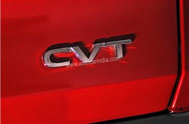 The Magnite will be the first compact SUV with a CVT automatic gearbox.