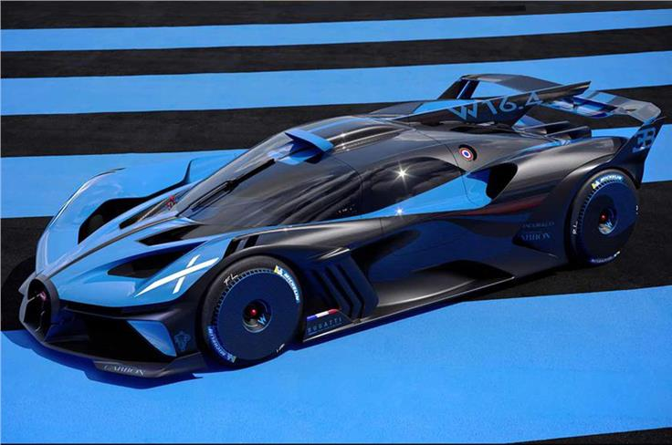The Bolide sits on a super-light and super-stiff carbonfibre monocoque.