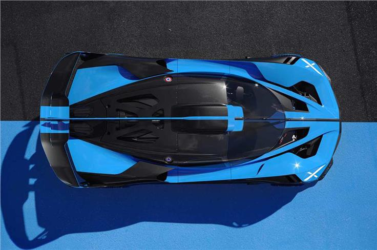 """Bugatti claims a theoretical top speed of """"well above"""" 500.50kph."""
