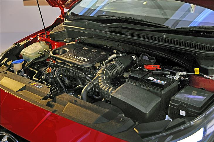 The 1.0-ltre turbo-petrol engine produces 120hp and 172Nm.