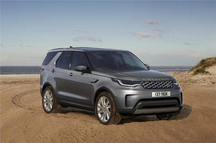 Discovery facelift shares its styling with the updated Discovery Sport.
