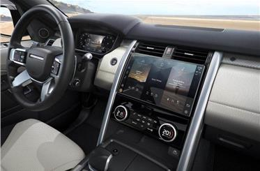 11.4-inch touchscreen display takes pride of place on the revised dashboard.
