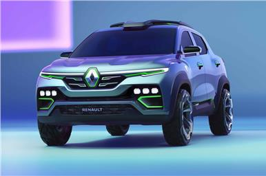 There's a striking family resemblance to the Kwid and the Triber.
