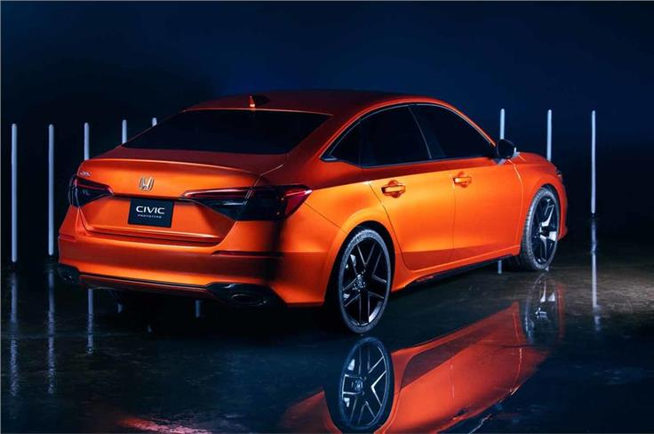 The Civic sedan will launch first, followed by a hatchback variant later.