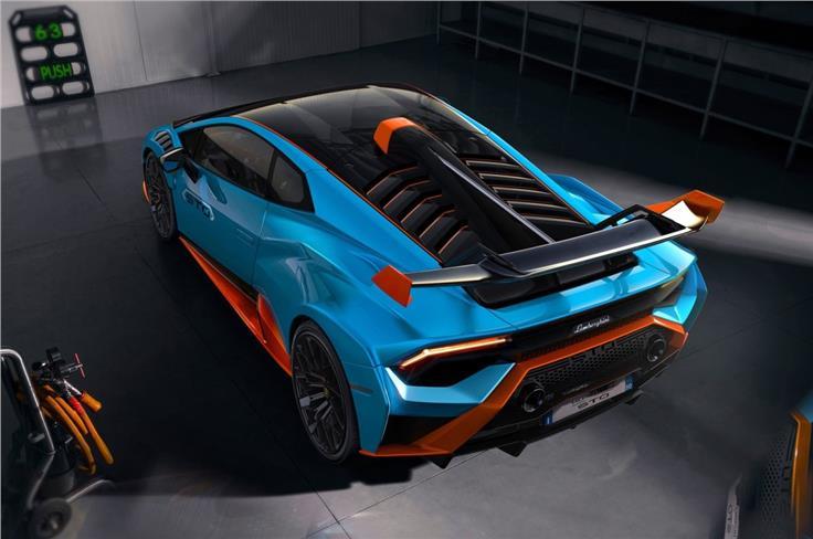 """""""鱼翅""""设计旨在提高快速转弯时的偏航稳定性。"""