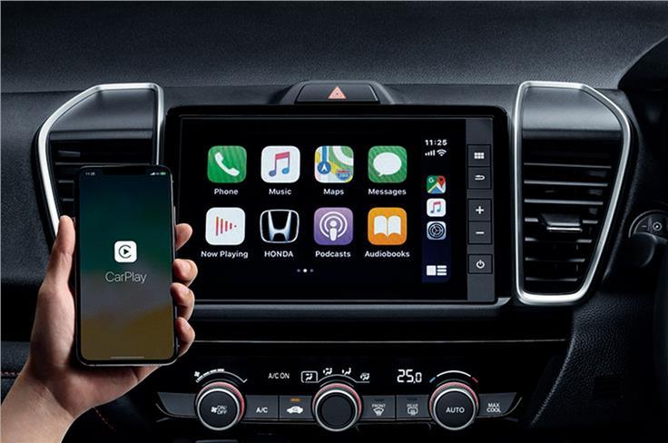 8英寸触摸屏也与本田的联网汽车技术捆绑在一起。