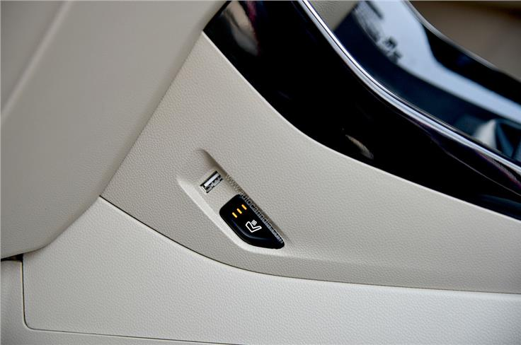 Both the front seats are offered with a ventilation function on higher trims.
