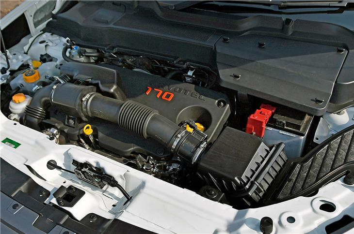 The Fiat-sourced, 2.0-litre Kryotec turbo-diesel produces 170hp.