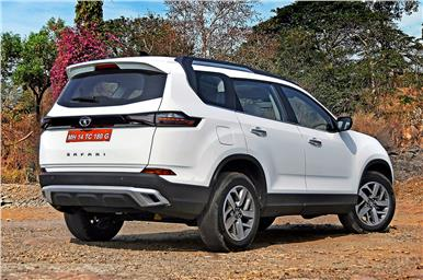 The rear styling is quite unique with its large rear quarter glass, upright tailgate, and longer overhang.