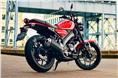 The XSR 125 gets a six-speed gearbox.